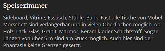Freischwinger für 66649 Oberthal